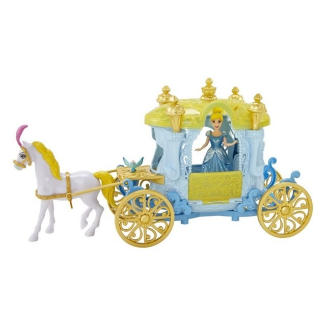 Disney Princess Cinderella Horse and Carriage  eBay
